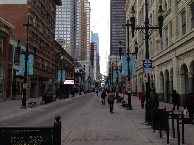 Stephen Avenue needs more than just holiday lights to make it an attractive place to shop.