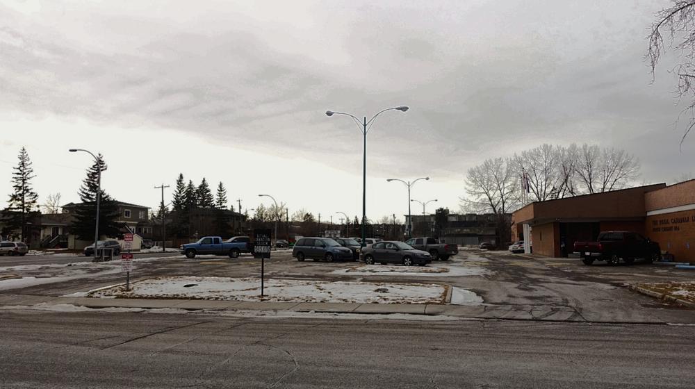 Kensington Legion site as it exists Fall of 2015.
