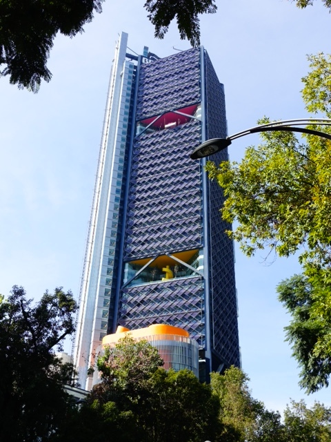 """Torre BBVA Bancomer Tower"" (Mexico City)"