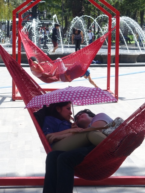 Relaxing, Mexico City
