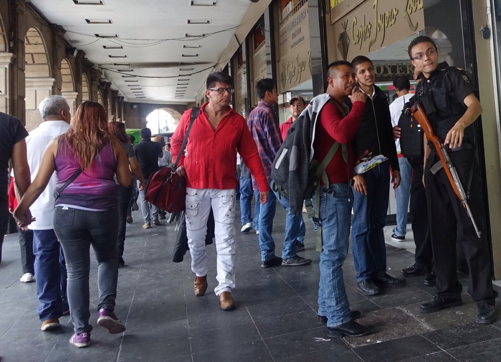 Asking For Directions, Mexico City