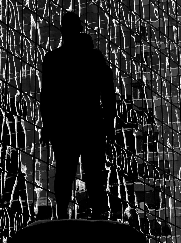 """Staring"" (Bankers Hall Plaza, Calgary)"