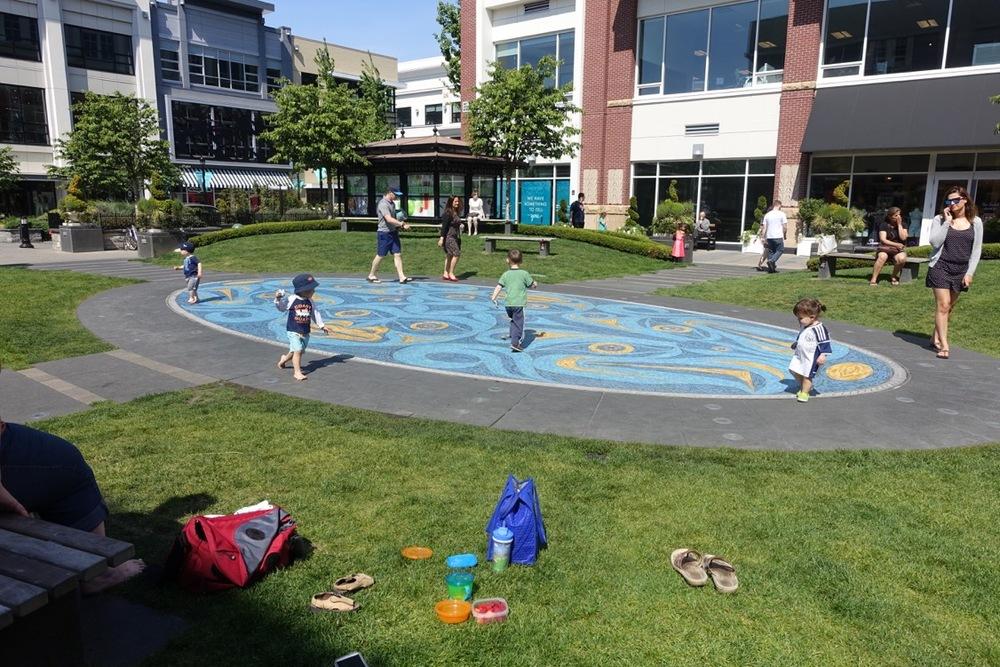 Artwalk maze playground, Victoria