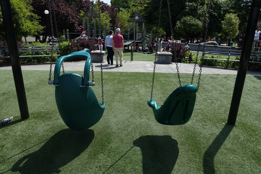 Bucket Seat Swings, Seattle