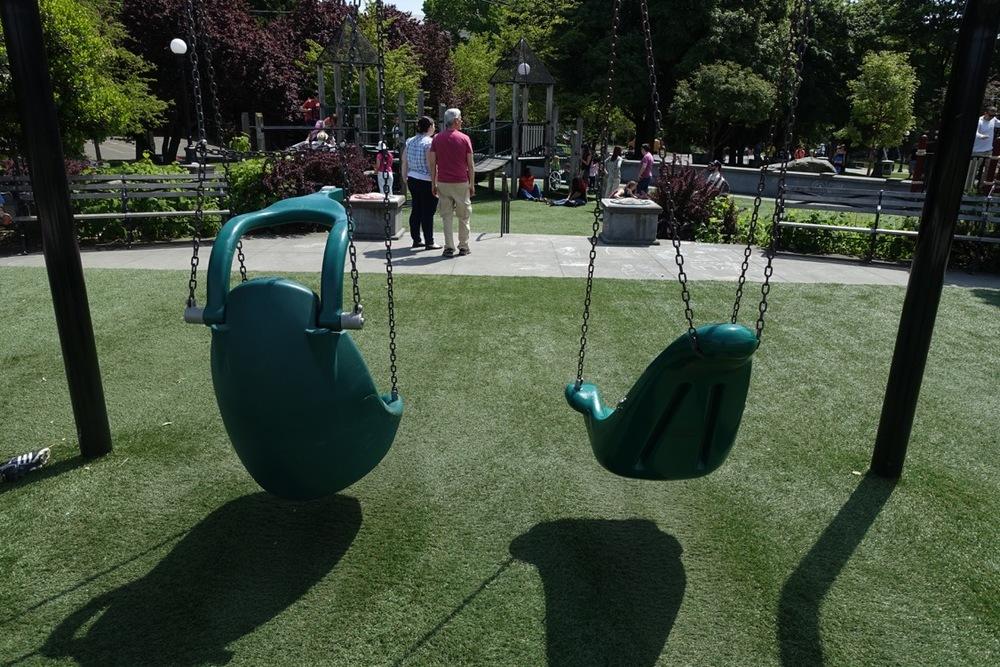Bucket Seat Swings, Seattle