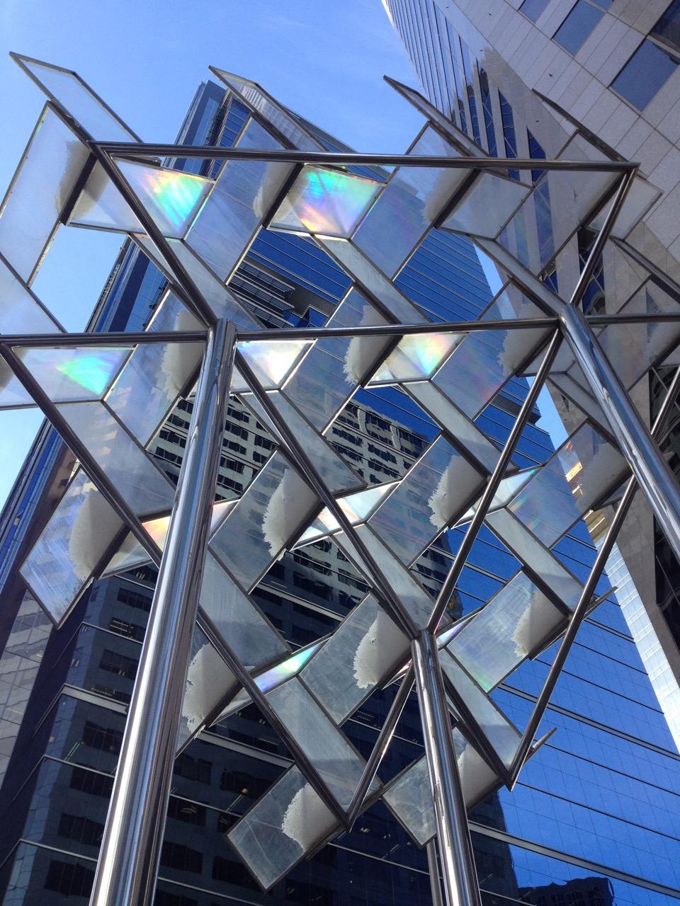 """Many Angles"" (downtown, Calgary)"