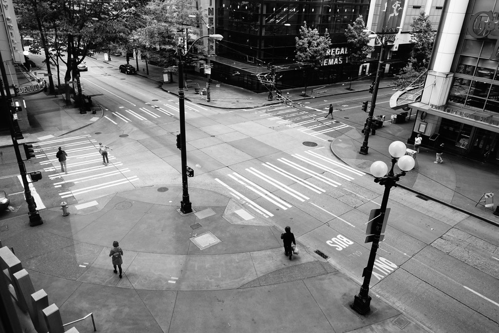 """""""Intersection"""" (downtown Seattle)"""