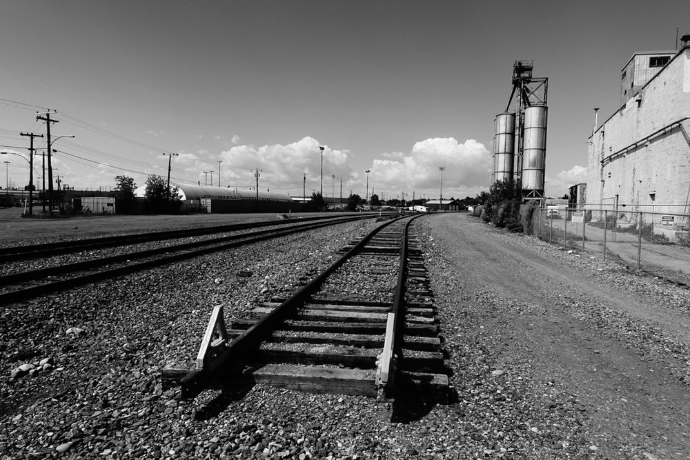 """End of the rails"" (Inglewood, Calgary)"