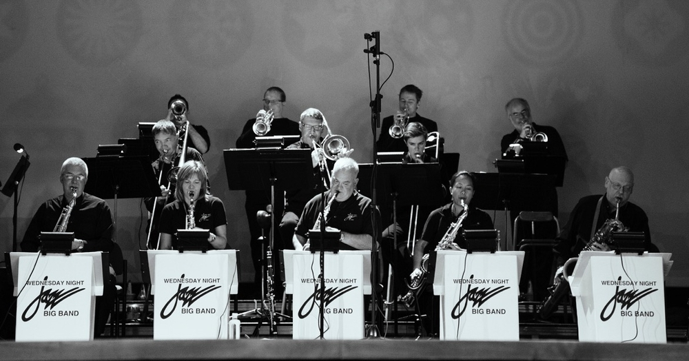 Wednesday Night Big Band (photo credit: Gerry David)