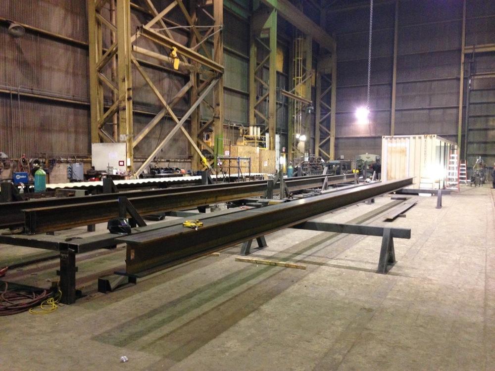 Ladacor massive warehouse workshop.