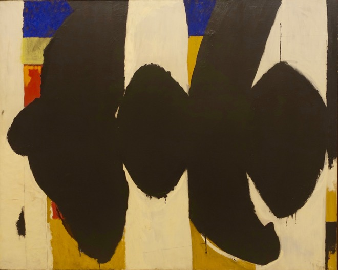 Tom: Robert Motherwell's Elegy to the Spanish Republic XXXIV is one of many American masterpieces in the Albright Knox Art Gallery's collection. You should get to Buffalo next time you are in Toronto. R