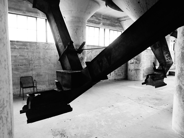 Amy: You would love the acoustics inside the cement silo grain elevators. George: they are a fun place to photograph...wish you both were here. RW