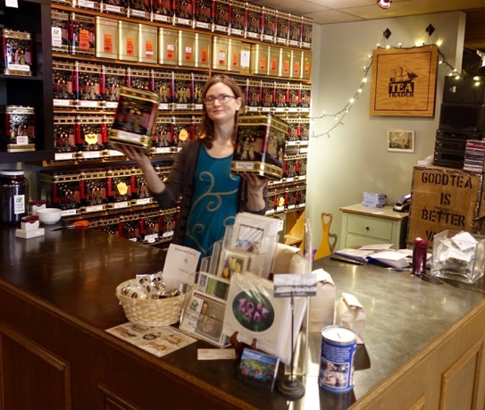 Kate loves to talk about the art and science of teas.