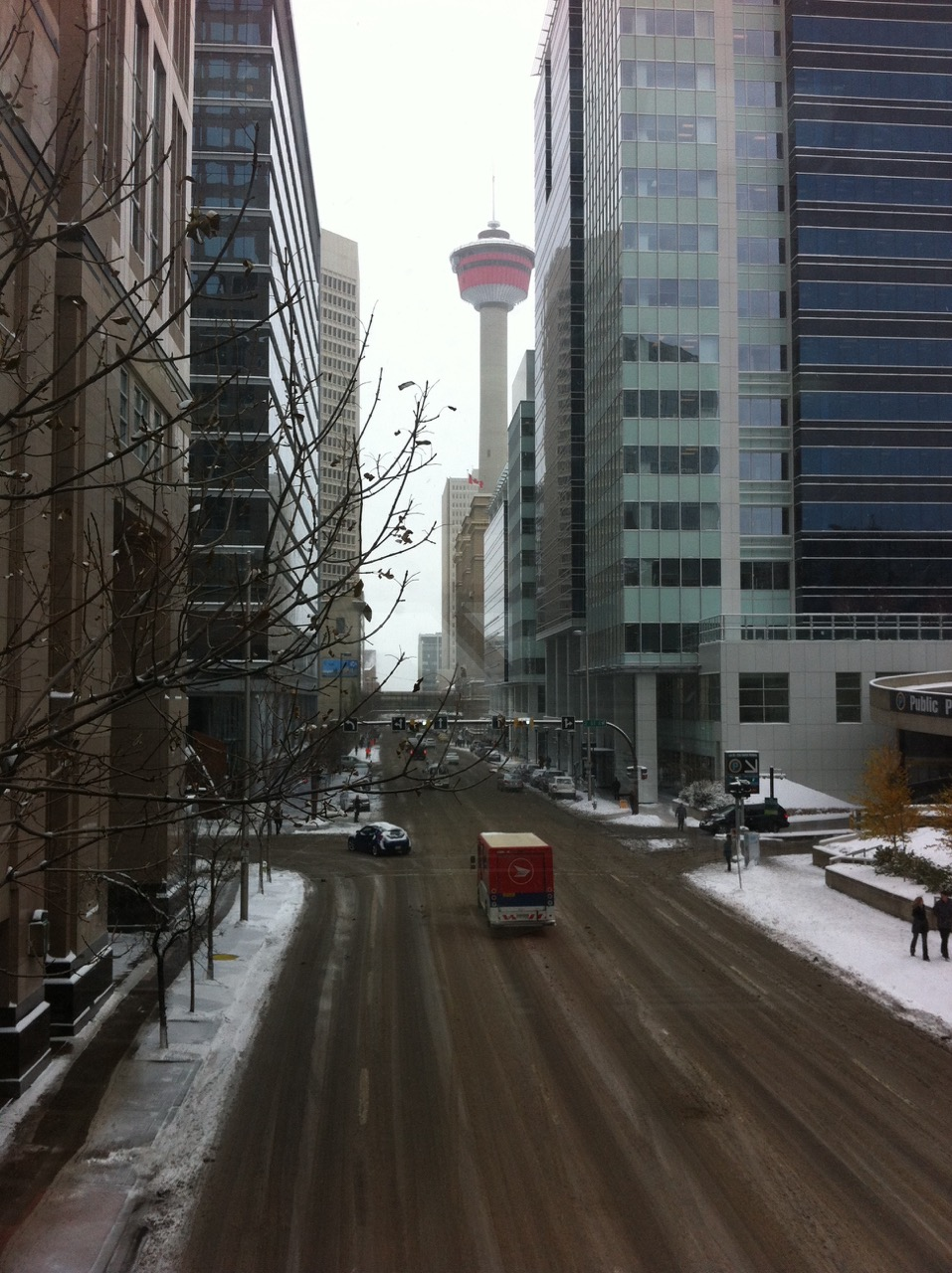 9th Avenue, downtown Calgary