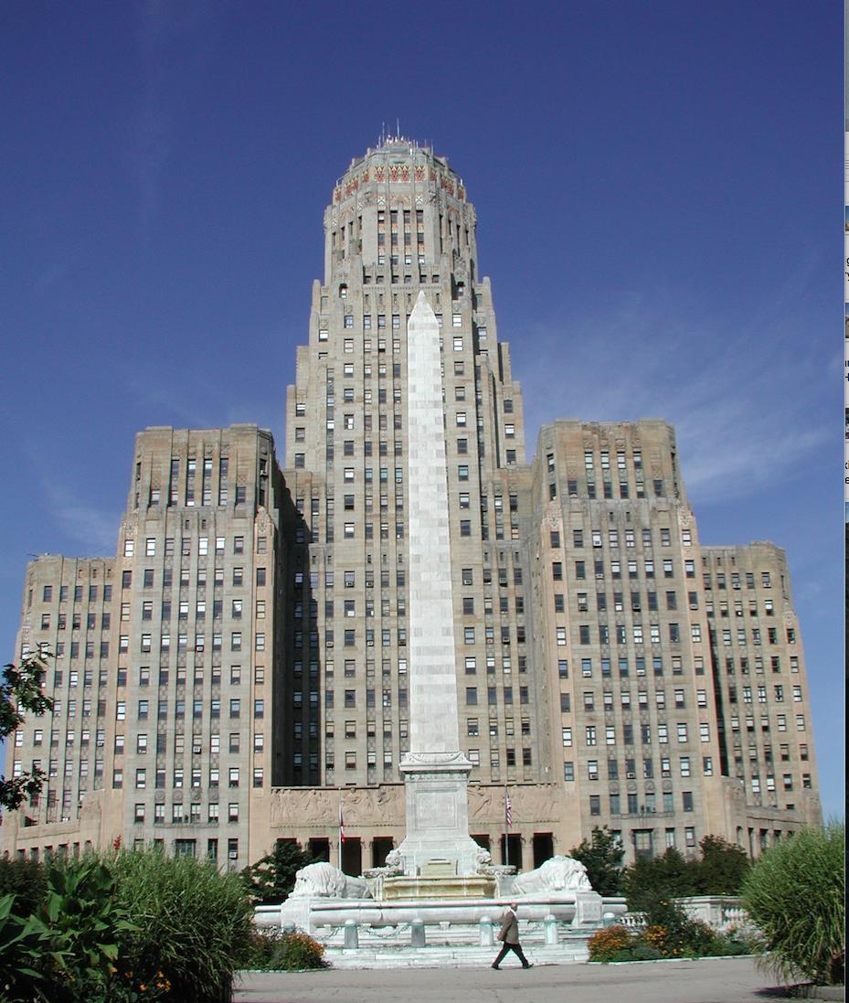 Buffalo City Hall (photo credit: Nancy Vargo)