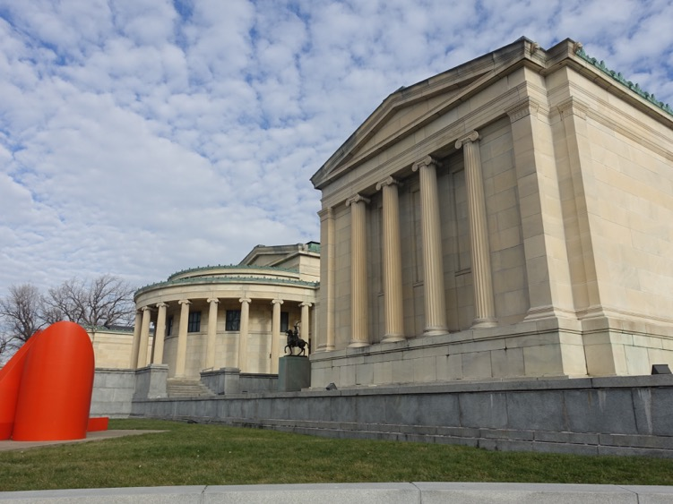 Albright Knox Art Gallery is a gem both for its architecture and collection.