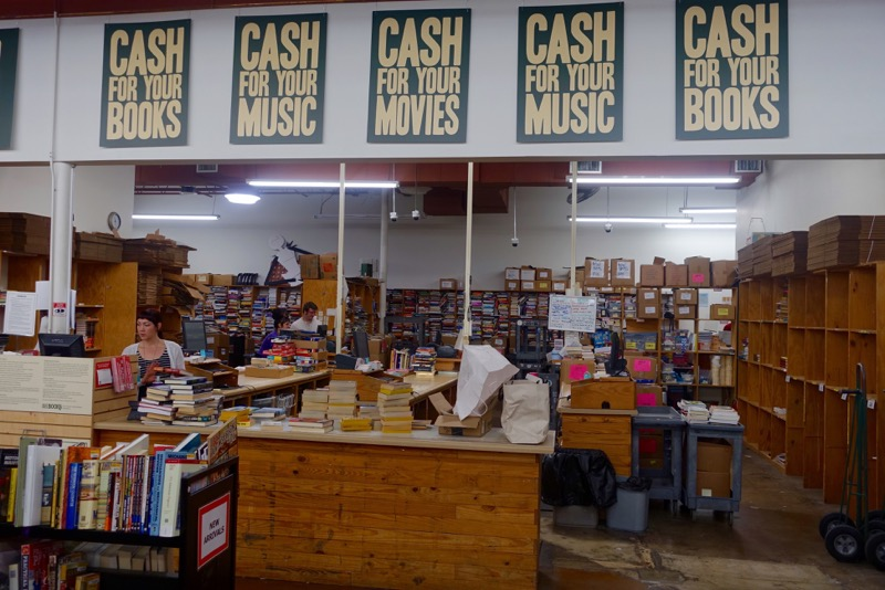 As you can see HPB is very serious about buying books and music.