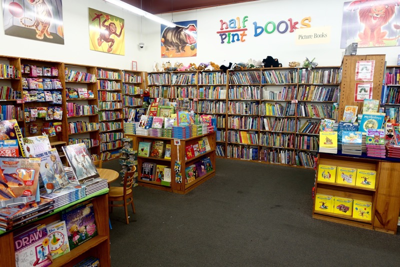 The Children's section is bright and cheerful.