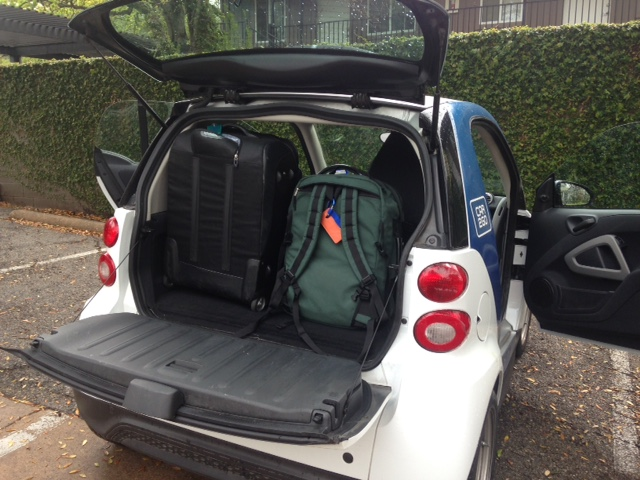 car2go trunk