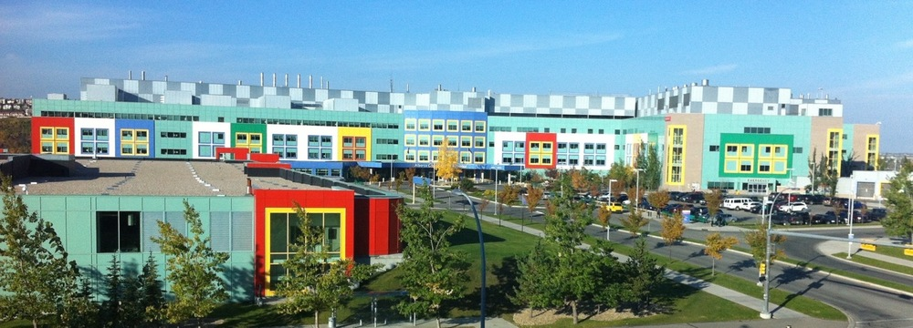 Alberta Children's Hospital will become part of the University of Calgary's new urban village called - University District (6,000 multi-family homes, 245,000 sf Main Street retail and 1.5 million square feet office).