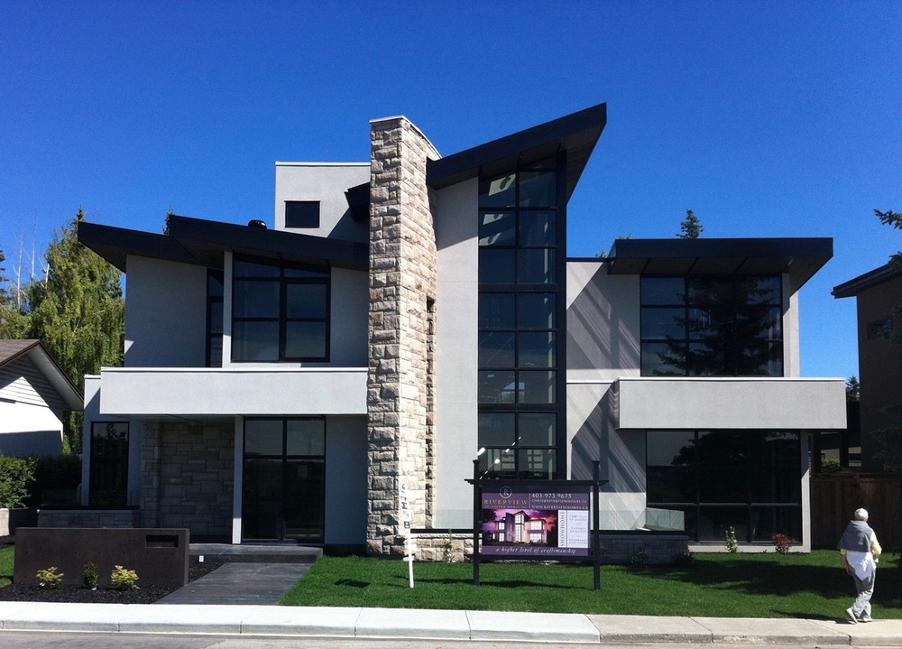 St. Andrew's Heights infill home.