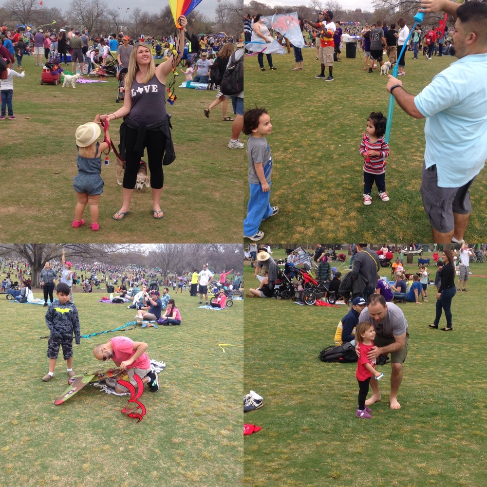 Family fun for everyone at the Austin Kite Festival.