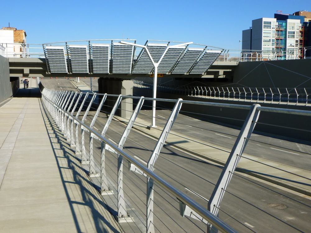 The 4th St. SE underpass presents a major challenge for linking Stampede Park and East Village.