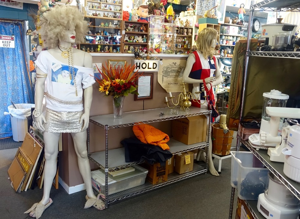 Top Drawer Thrift fashions!