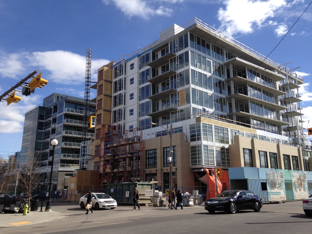 Pixel condo is now complete and its sister condo Lido is under construction in Kensington Village.