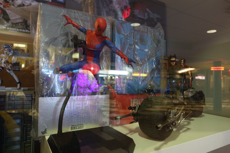 Super Hero Window in Dragon City Mall.