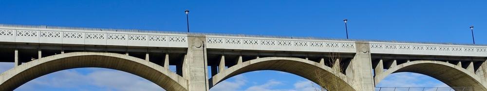 Glenmore dam was built in 1932 for $3.8 million. It has wonderful Art Deco elements.