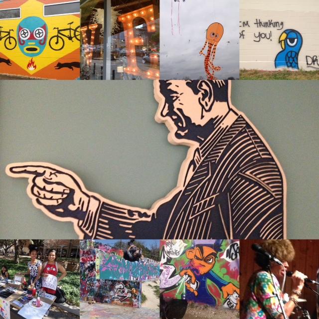 Austin is fun! Austin's Wonderful & Weird Outdoor Gallery Link