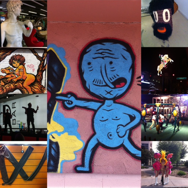 Las Vegas playground, pants, street art etc. Off The Beaten Path in Las Vegas Link