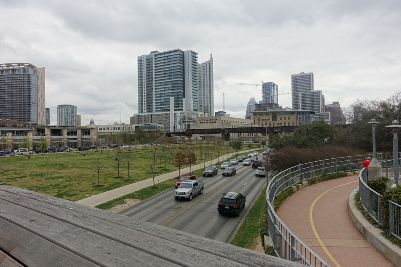 Austin's 2nd Street District is cut off from the waterfront by a major highway.