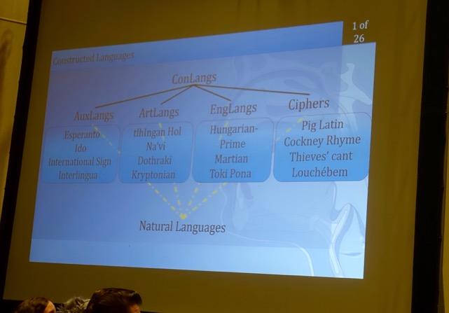 Calgary Expo Klingon Lecture