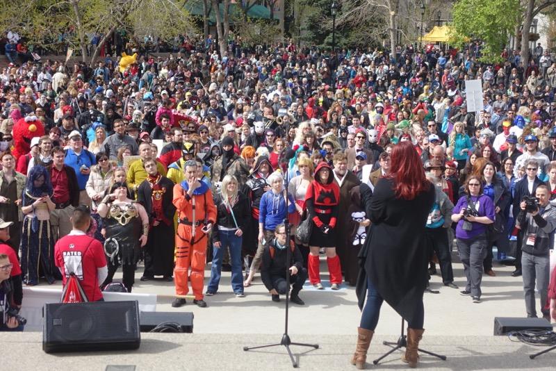 Parade of Wonder, Olympic Plaza, Calgary Expo