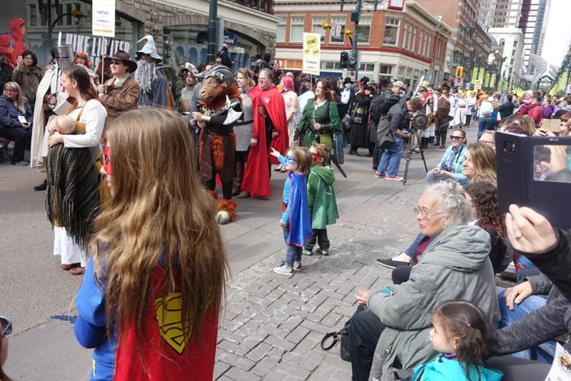 Parade of Wonders, Calgary Expo