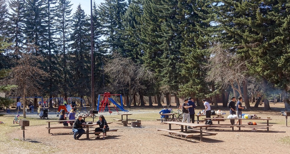 Edworthy Park is just one of over 5,000 parks in Calgary.
