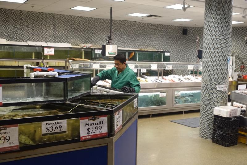 Seafood Market, Nations, Hamilton Ontario