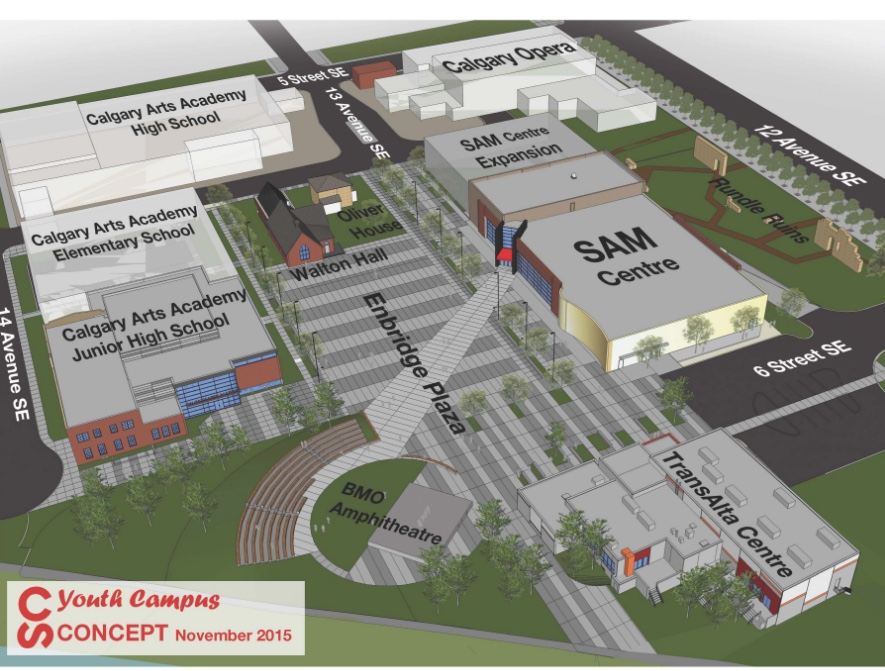 Calgary Stampede is currently developing its new Youth Campus as part of its master plan.  The next phase is the expansion of the BMO trade show building into a multi-purpose event centre.