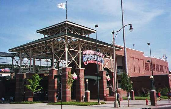 Oklahoma City's Bricktown Ballpark