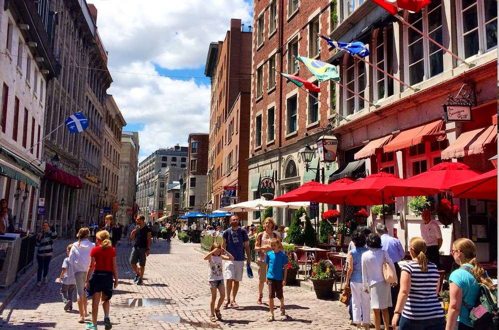 Old Montreal is one of Canada's best urban tourist attractions.