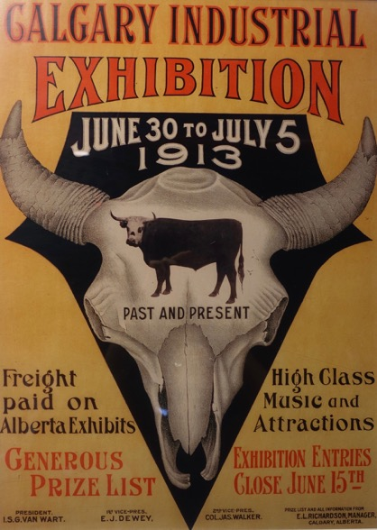 Calgary Stampede Poster 1913