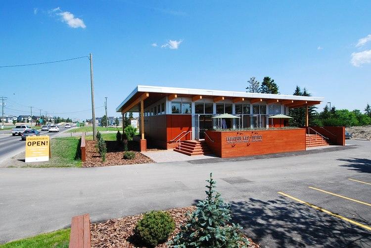 Engagement Hub building/cafe