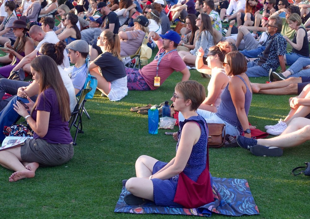 There is a zen-like quality to the Calgary International Folk Festival experience.