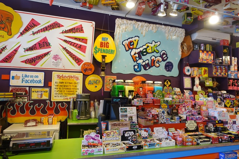 Both 17th Ave and South Congress have fun candy stores....this is 17th Ave's!