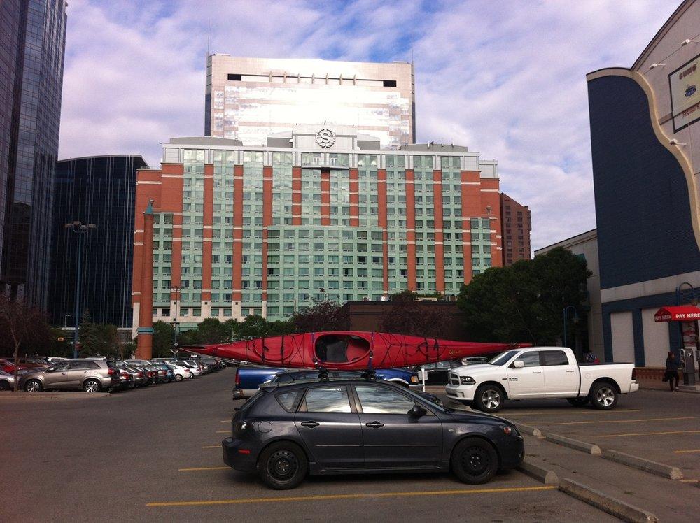 Eau Claire's Sheraton Hotel.