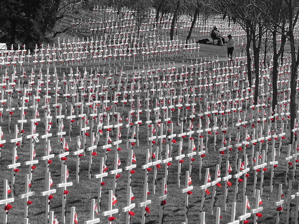 Field of Crosses, Calgary, Canada