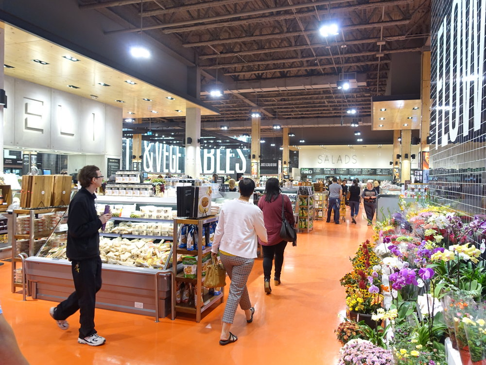 Loblaws City Market concept borrows liberally from Whole Foods as an urban grocery store.  It will be a welcome addition to Calgary's East Village.