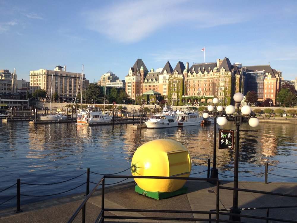 Victoria's waterfront.